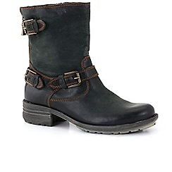 Josef Seibel - Dark grey 'sandra 34 triple' womens casual boots