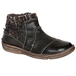 Josef Seibel - Brown 'neele 06 wool' womens casual boots