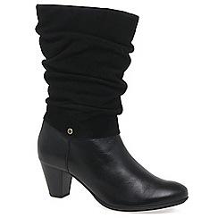 Van Dal - Black 'Kline' womens casual boots