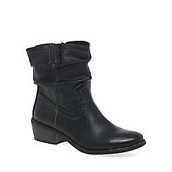 Marco Tozzi - Black 'Malina' womens casual boots