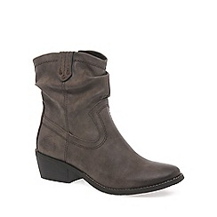 Marco Tozzi - Brown 'Malina' womens casual boots