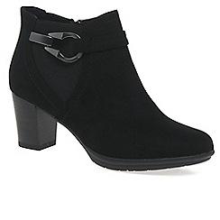 Marco Tozzi - Black 'flack ii' womens ankle boots