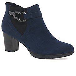 Marco Tozzi - Navy 'Flack II' Womens Ankle Boots