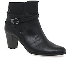Marco Tozzi - Black 'Eema' womens ankle boots