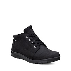 Ecco - Black 'Babett' womens casual boots