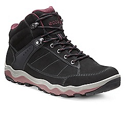 Ecco - Black 'Ultra' womens casual walking boots