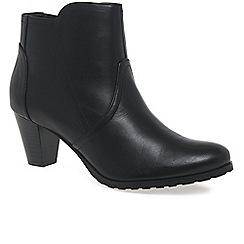 Van Dal - Black 'Lenzi II' womens casual ankle boots