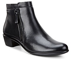 Ecco - Black 'Touch 35' womens ankle boots