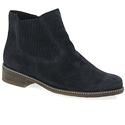 Gabor - Dark Blue 'Pescara' womens modern ankle boots
