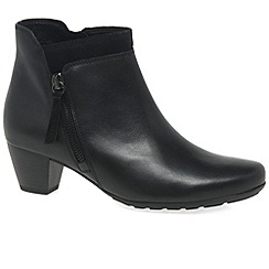 Gabor - Black 'Bonsoir' womens modern ankle boots