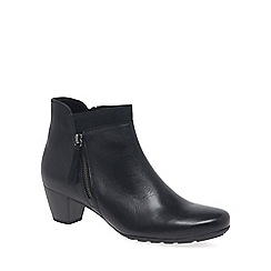 Gabor - Navy 'Bonsoir' womens modern ankle boots