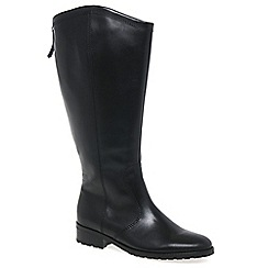 Gabor - Black 'Harrow XL' Womens Long Boots