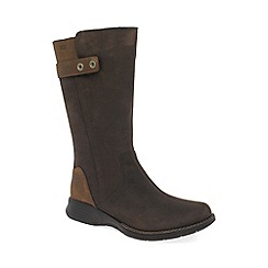 Merrell - Brown 'Travvy Tall' womens waterproof calf length boots