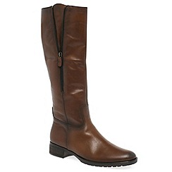 Gabor - Brown 'Louisa M' womens long boots