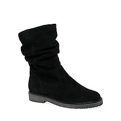 Gabor - Black 'Detour' Womens Modern Half Leg Boots