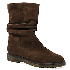 Gabor - Brown 'Detour' Womens Modern Half Leg Boots