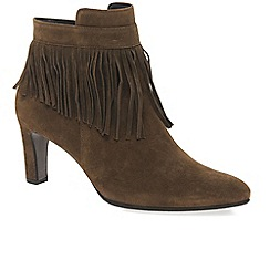 Gabor - Tan 'Brand' womens modern ankle boots