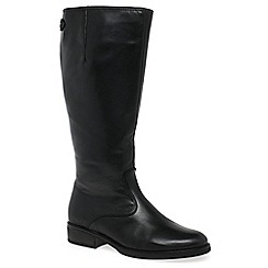 Gabor - Black 'Areta XL' womens long boots