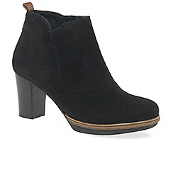 Gabor - Black 'Tournament' Womens Modern Ankle Boots