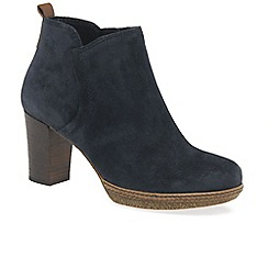 Gabor - Navy 'Tournament' Womens Modern Ankle Boots