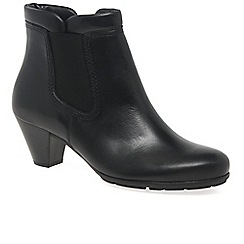 Gabor - Black 'Paige' Womens Modern Ankle Boots