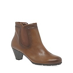 Gabor - Brown 'Paige' Womens Modern Ankle Boots