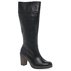 Gabor - Black 'Fiora' womens long boots
