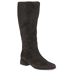 Gabor - Brown 'Nell' womens long boots