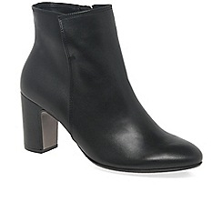 Gabor - Black 'Becca' womens modern ankle boots