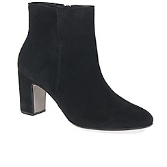 Gabor - Near black 'Becca' womens modern ankle boots