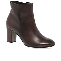 Gabor - Brown 'Becca' womens modern ankle boots