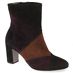 Gabor - Brown 'Freeman' Womens Modern Ankle Boots