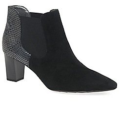 Peter Kaiser - Black Magda Womens Chelsea Boots