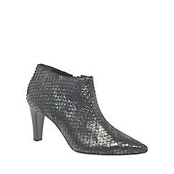 Gabor - Dark grey 'Cardwell' womens dress boots