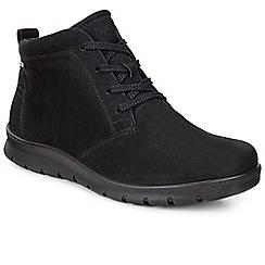Ecco - Black 'Babett' womens casual ankle boots