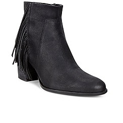 Ecco - Black 'Shape 55' womens casual ankle boots