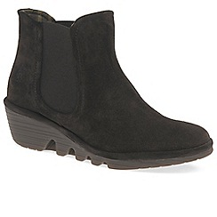 Fly London - Dark brown 'Phil' womens casual ankle boots