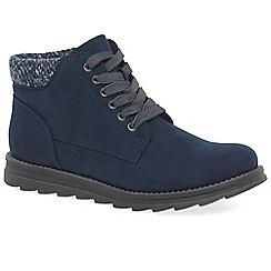 Marco Tozzi - Navy 'Mojito' womens casual boots