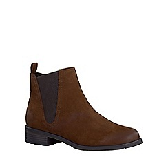 Marco Tozzi - Brown 'Spritzer' womens chelsea boots