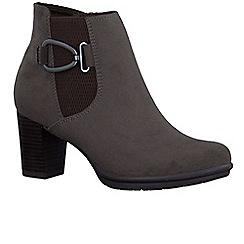 Marco Tozzi - Brown 'Flack III' womens chelsea boots