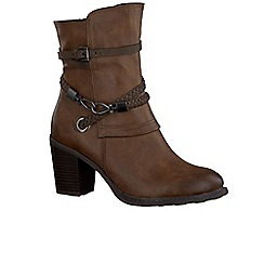 Marco Tozzi - Brown 'Lovet III' Womens Casual Boots