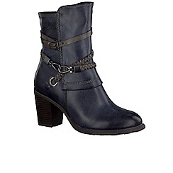 Marco Tozzi - Navy 'Lovet III' Womens Casual Boots
