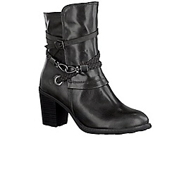 Marco Tozzi - Grey 'Lovet III' Womens Casual Boots