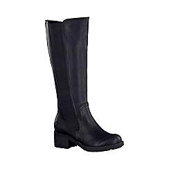 Marco Tozzi - Black 'Margarita' womens long boots