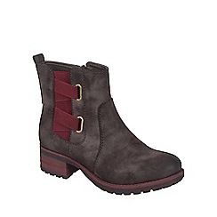 Rieker - Brown 'Canter' womens casual ankle boots