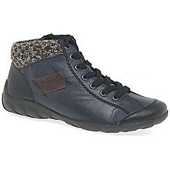 Rieker - Blue 'Jura' womens casual ankle boots