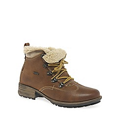 Josef Seibel - Brown 'Sandra 52' womens hiking boots