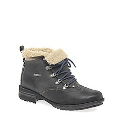 Josef Seibel - Dark grey 'Sandra 52' womens hiking boots