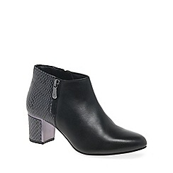 Van Dal - Black 'Arial II' womens dress ankle boots