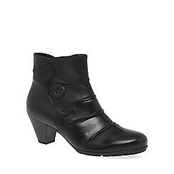 Gabor - Black 'Spiritual' womens ankle boots